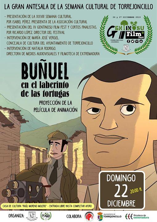 Buñuel en el laberinto de las tortugas, en Torrejoncillo