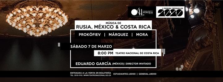 OSH 2020 Marzo Teatro Nacional de Costa Rica