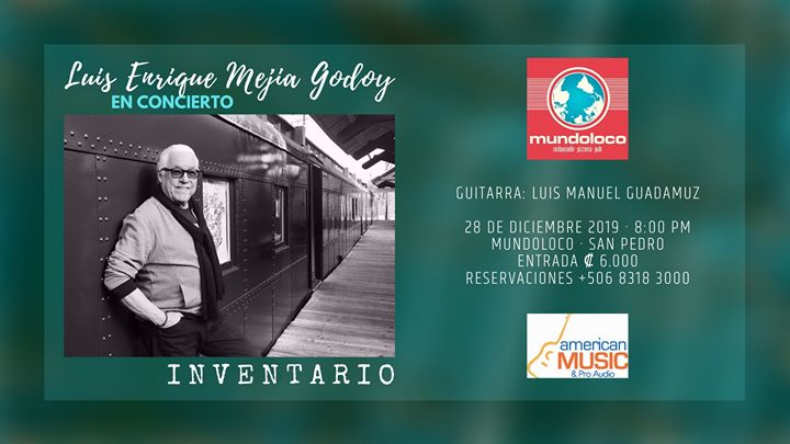 Luis Enrique Mejía Godoy: Inventario