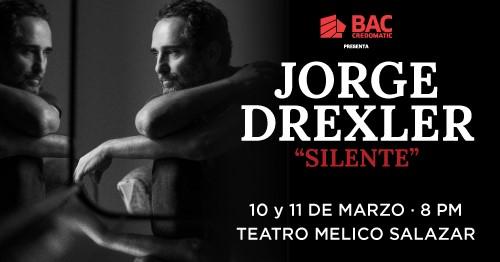 Jorge Drexler y la gira Silente en Costa Rica 2020