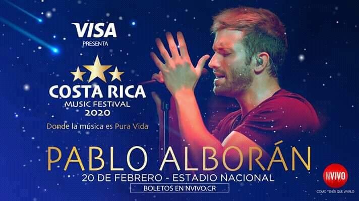 Pablo Alborán Costa Rica