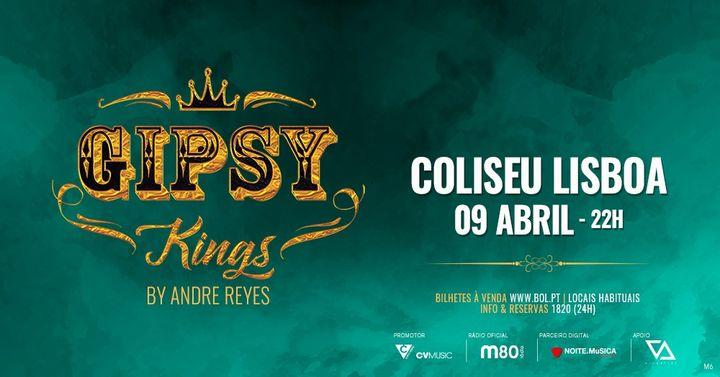 Gipsy Kings by Andre Reyes em Lisboa