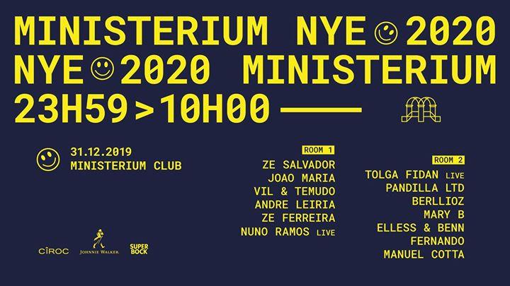 MINISTERIUM NYE 2020