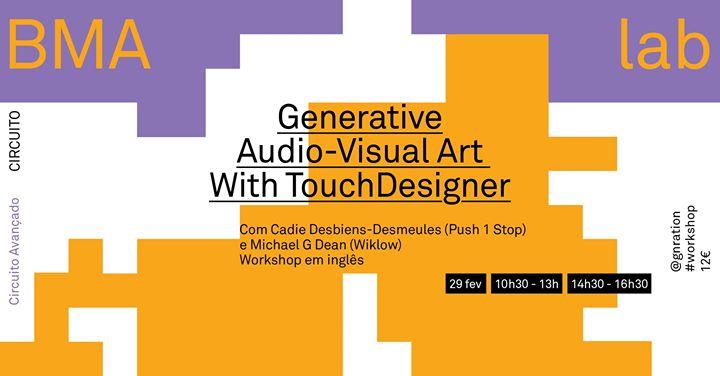 Esgotado | Generative Audio-Visual Art with Touchdesigner