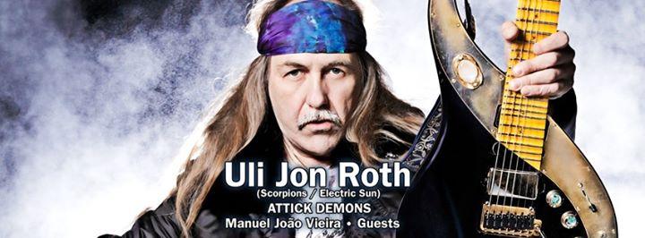 Uli Jon Roth - Attick Demons - Manuel João Vieira and Guests