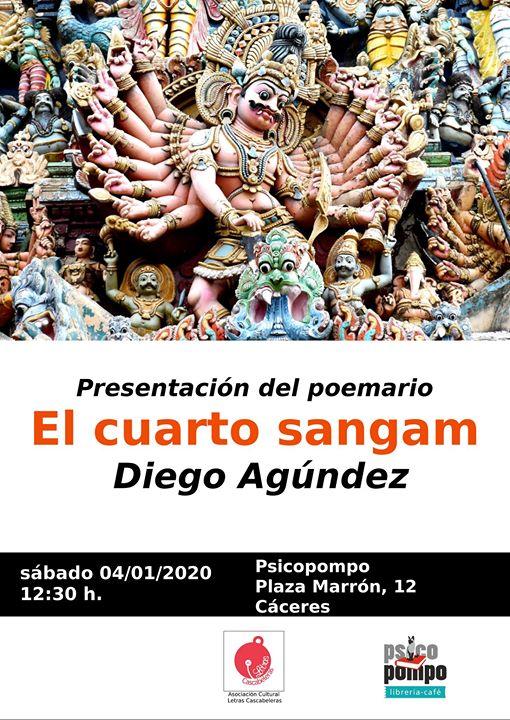 Presentación de 'El cuarto sangam' de Diego Agúndez