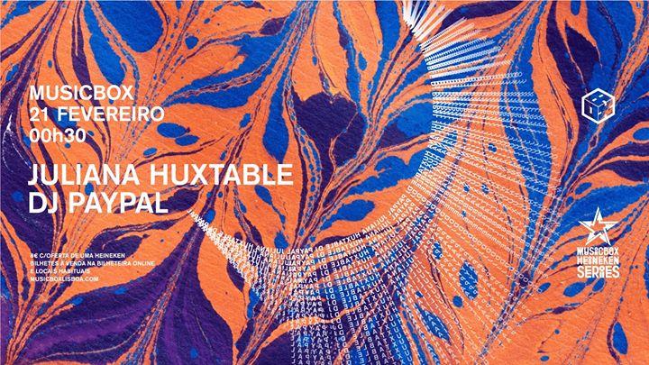 Juliana Huxtable / DJ Paypal / Meia de Leite dj set | MHS