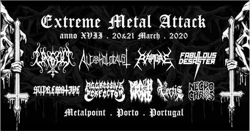 ADIADO-Extreme Metal Attack Festival XVII, 2021