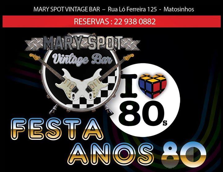 Oitentamente - Festa Anos 80