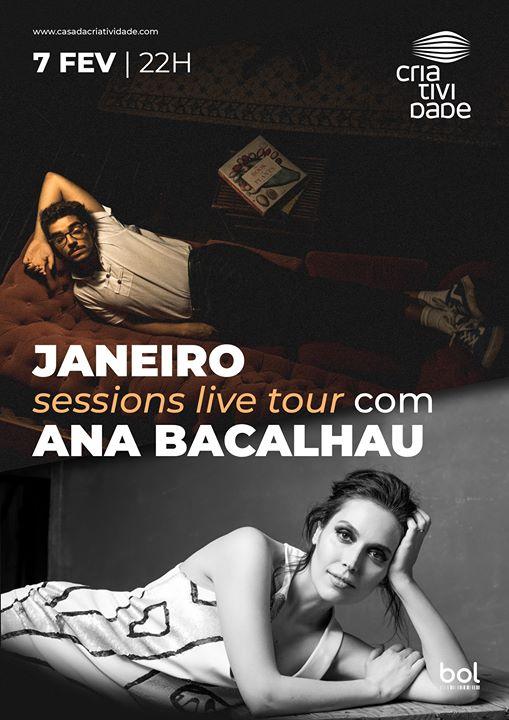 Janeiro Sessions Live Tour - com Ana Bacalhau