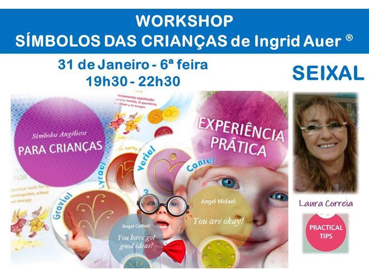 Seixal   Workshop Símbolos Angélicos para Crianças Ingrid Auer®