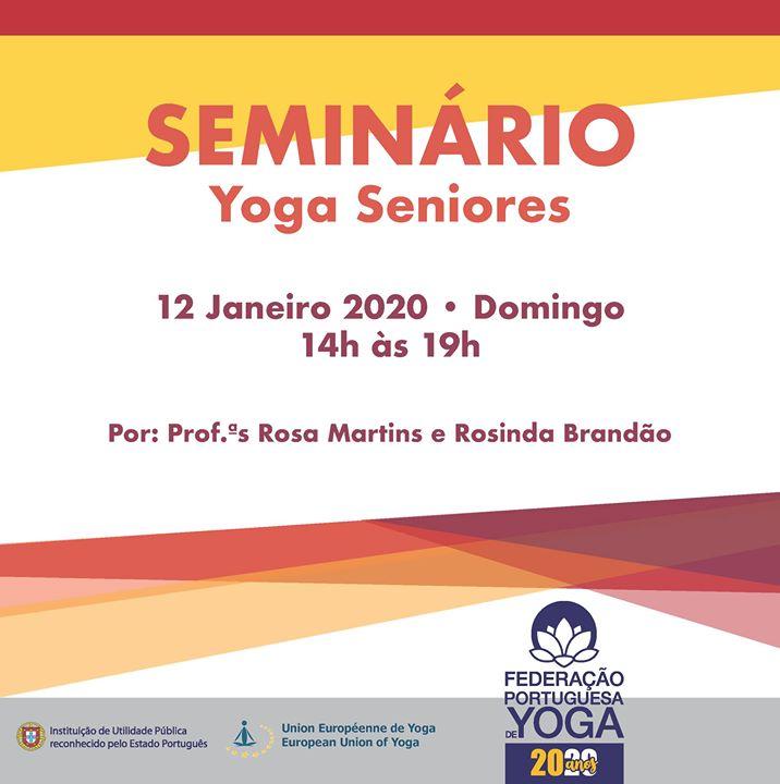 Seminário Yoga Seniores
