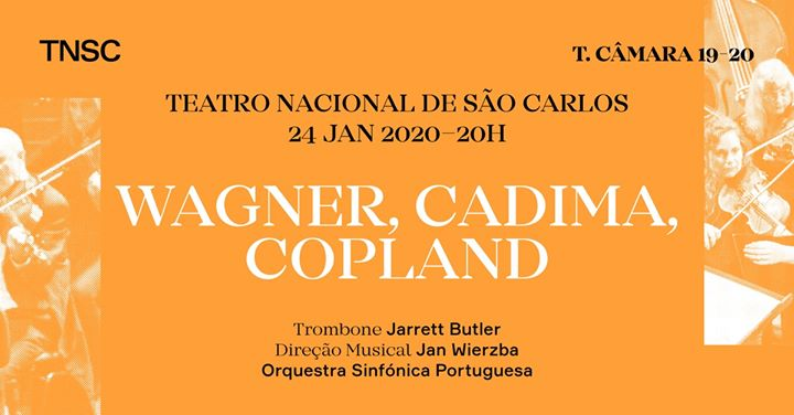 Jarrett Butler, OSP e Jan Wierzba: Wagner, Cadima, Copland