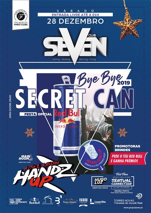 Secret Can – Red Bull Oficial Party