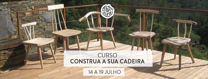 Curso Construa a sua Cadeira   Build your own chair course