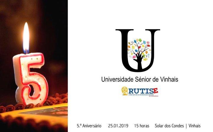 5.º Aniversário da Universidade Sénior de Vinhais