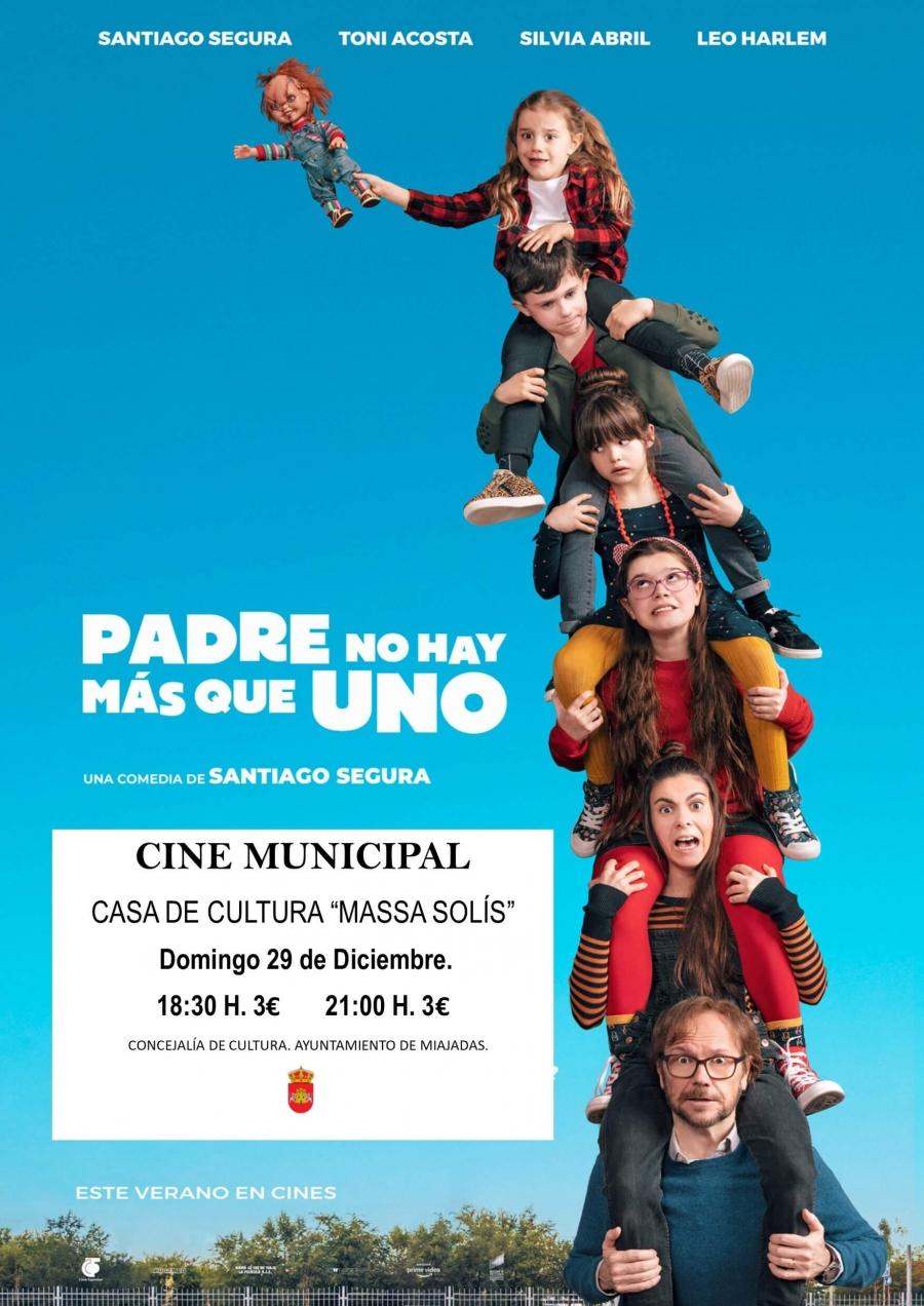 """El Cine Municipal proyecta: """"Padre no hay más que uno"""""""