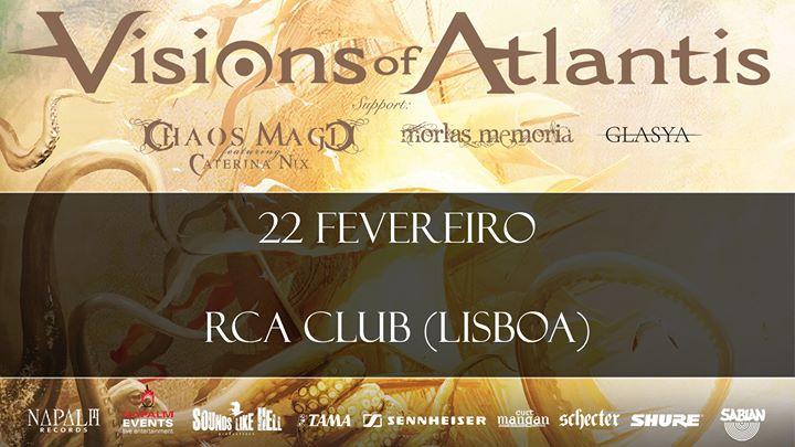 Visions of Atlantis em Lisboa