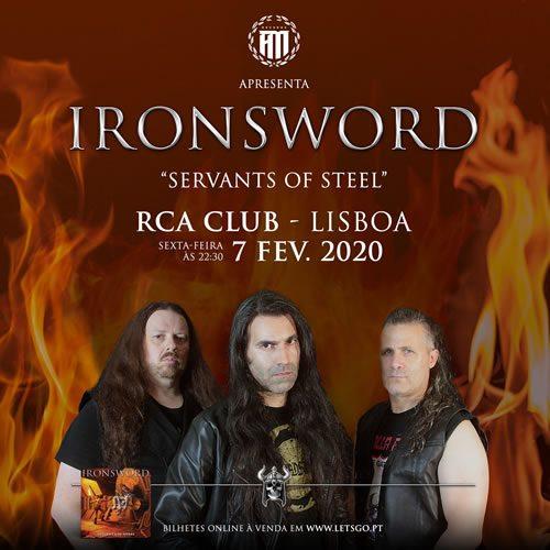 Ironsword | Servants of Steel (Lisboa)