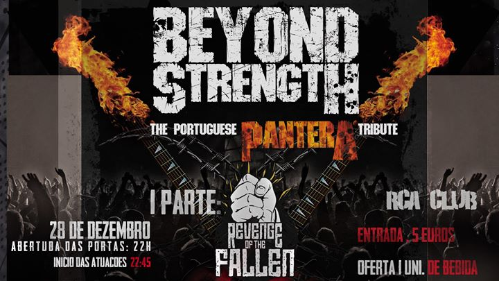 Beyond Strength + Revenge of the fallen at RCA CLUB