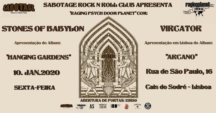 Stones Of Babylon + Vircator | Sabotage Club