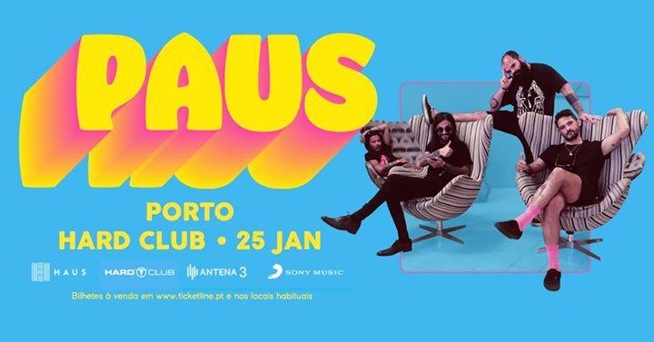 PAUS no Hard Club 25 Jan 2020