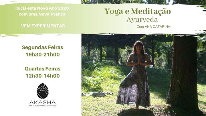 Prática de Yoga e Meditação Ayurveda