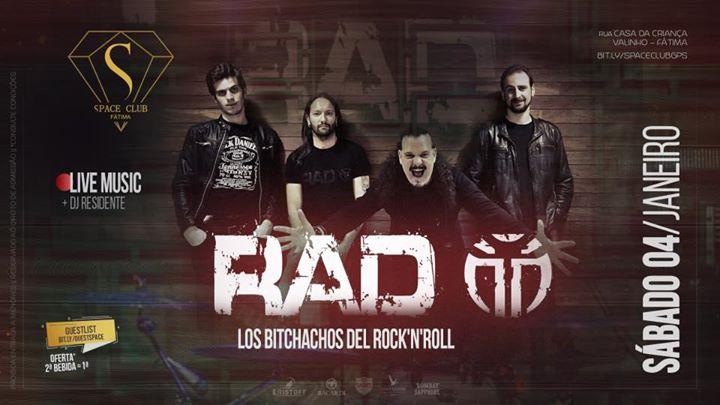 live music RAD - los bitchachos del Rock N' Roll