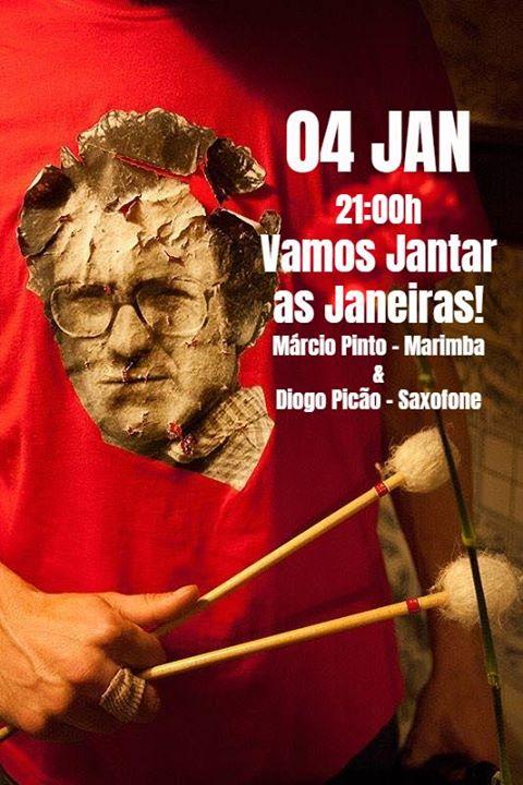 Jantar as Janeiras! - Zeca Afonso por Marcio Pinto & Diogo Picão