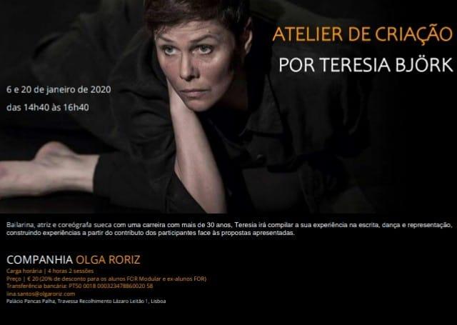 Atelier de criação por Teresia Björk