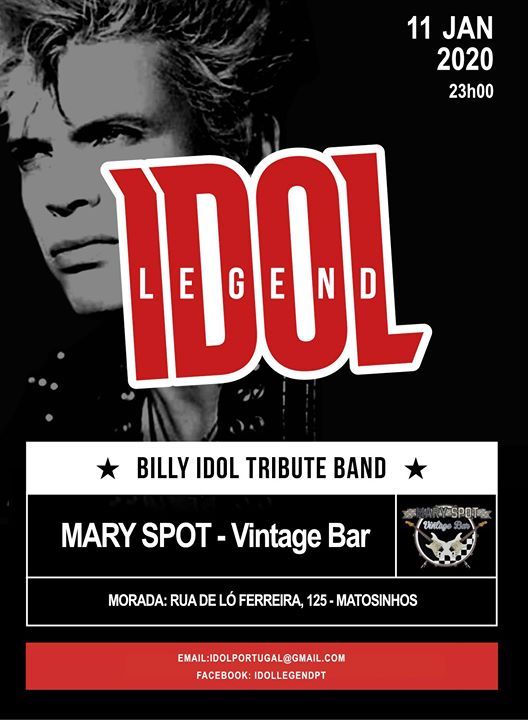 Idol Legend (Billy Idol Tribute) live at Mary Spot Vintage Bar