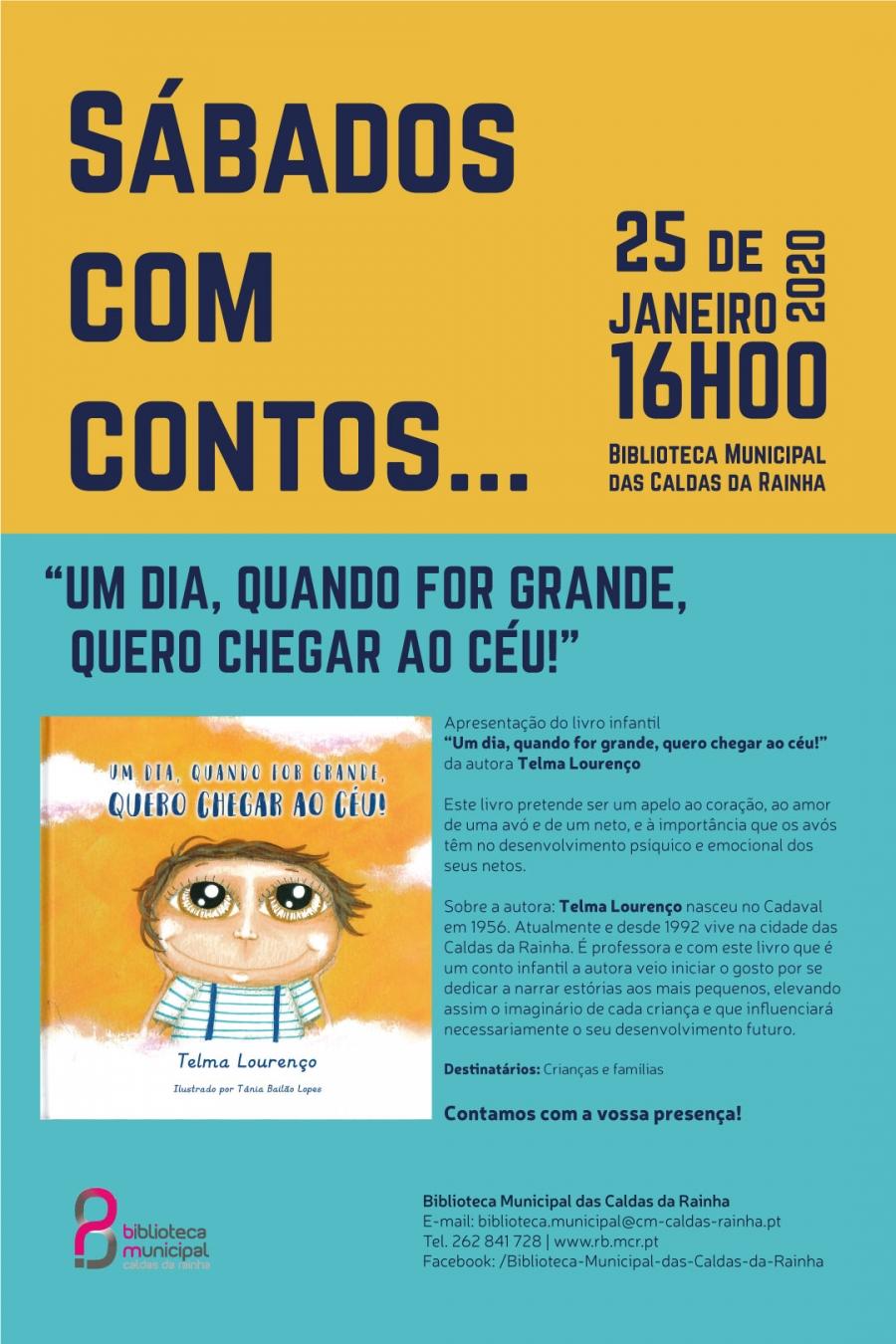 SÁBADOS COM CONTOS... APRESENTAÇÃO DE LIVRO INFANTIL