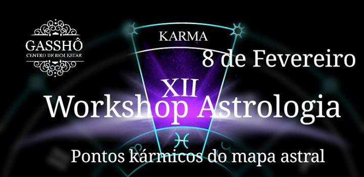Workshop Astrologia - Pontos kármicos do mapa astral