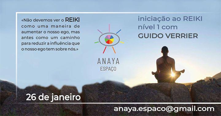 Iniciação de Reiki - Nível I