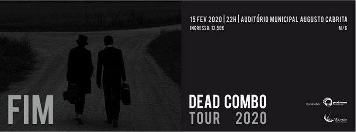 Dead Combo l Tour Fim l Espetáculo