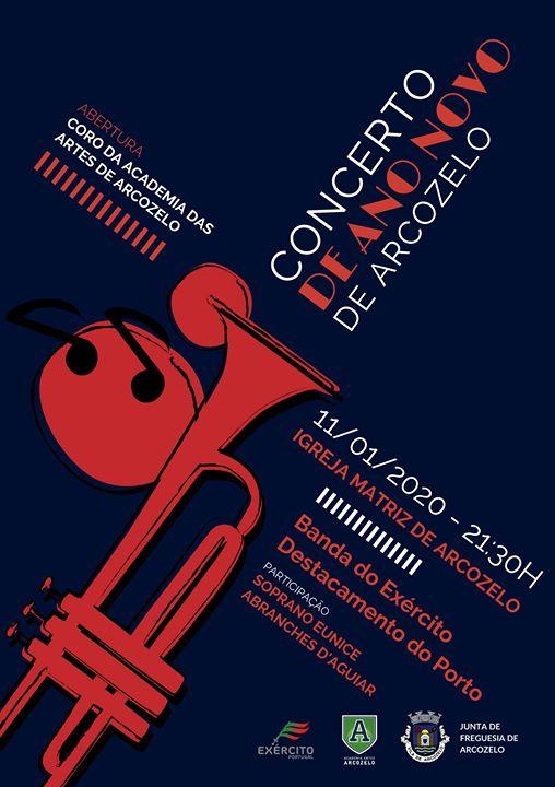 Concerto Ano Novo - Arcozelo