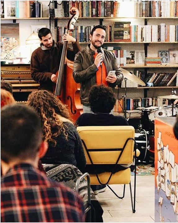 Jam Poetry Session com Joshua Levy