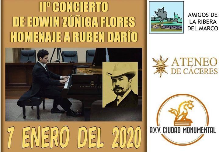 2º Concierto PIANO Homenaje a Ruben Dario