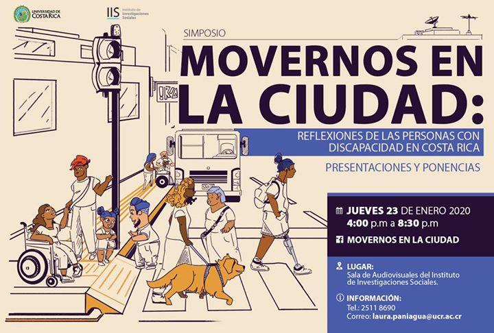 Simposio Movernos en la ciudad. Reflexiones y discapacidad