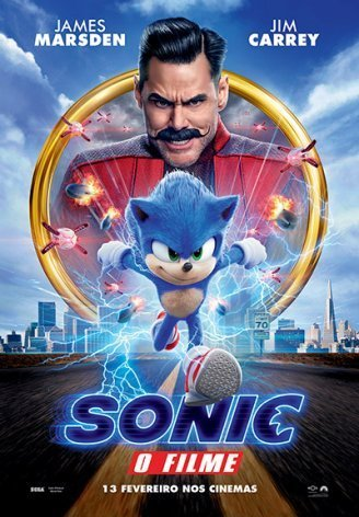 Sonic: O Filme » cinema