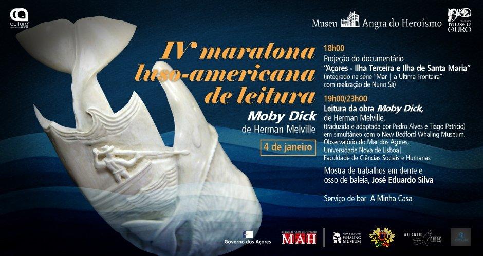 Maratona de Leitura | 'Moby Dick' em Língua Portuguesa