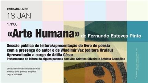 'Arte Humana' de Fernando Esteves Pinto