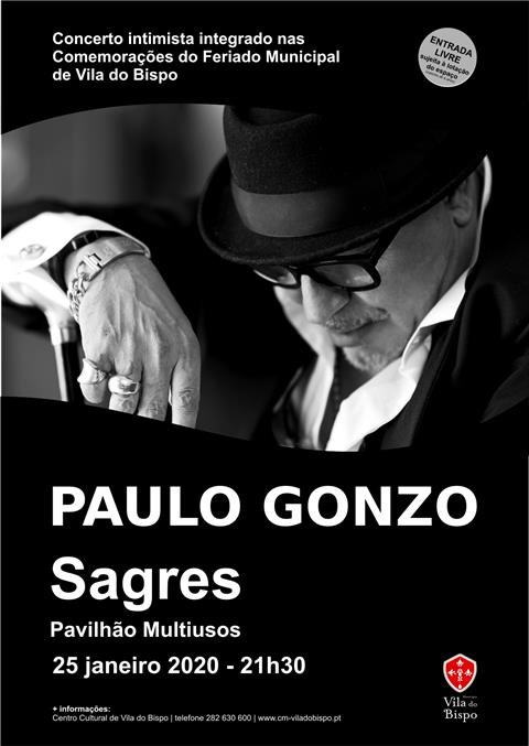 Paulo Gonzo em Sagres
