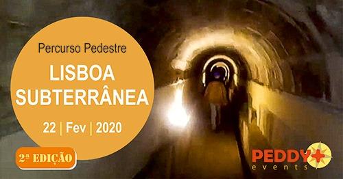 Percurso Pedestre 'Lisboa Subterrânea' (2ª Edição)