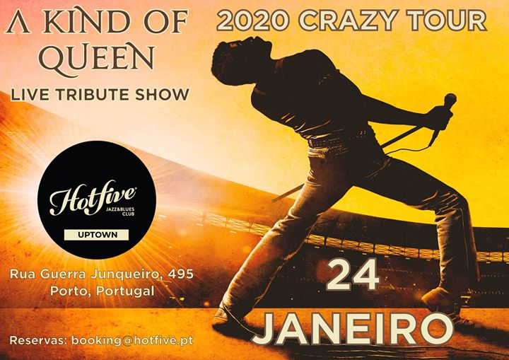 Queen Live Tribute Show by A Kind Of Queen | Hot Five Uptown
