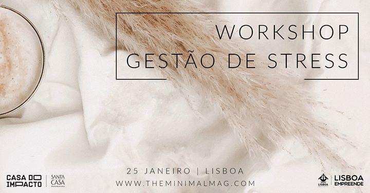 Workshop Gestão de Stress