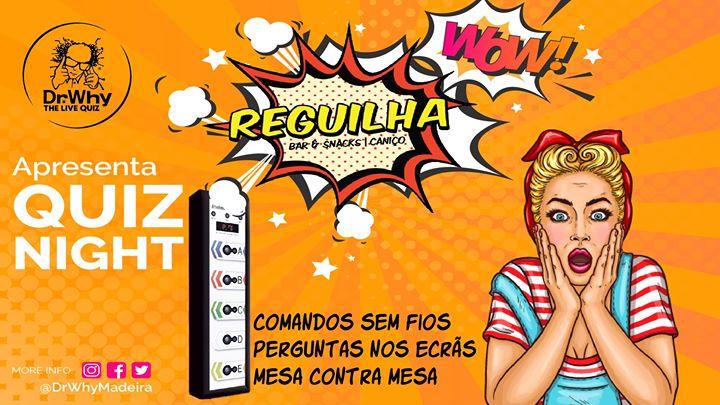 Dr.Why Madeira Live Quiz @Reguilha Bar