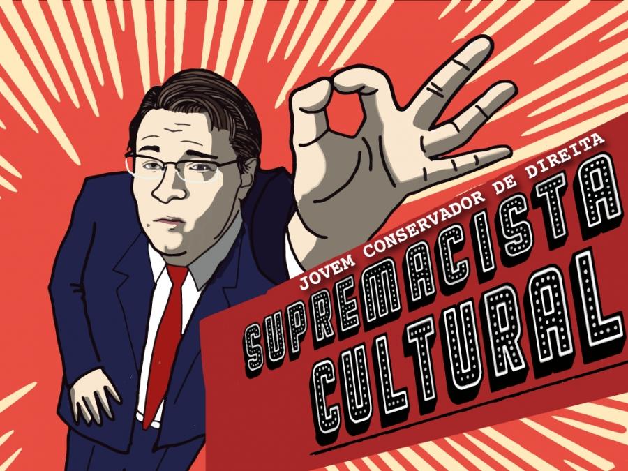 'Supremacista Cultural' de Jovem Conservador de Direita