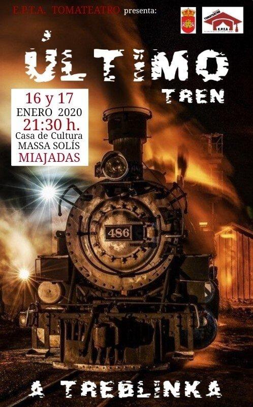 Teatro: Último tren a Treblinka