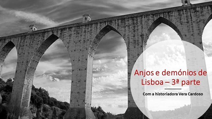 Anjos e demónios de Lisboa com a historiadora Vera Cardoso